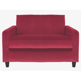 Velvet living room sofa for Living room ideas homebase