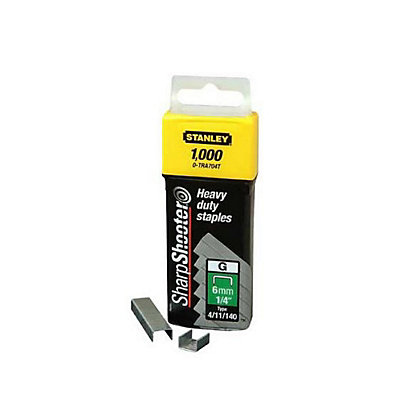 Image for Stanley Heavy Duty Staples - 6mm from StoreName