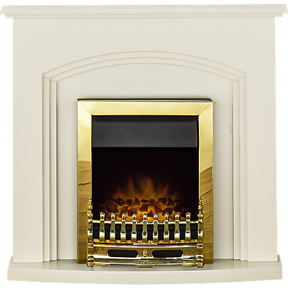 Image for Adam Truro Electric Fireplace Suite from StoreName