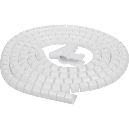 Image for Schneider IMT70005 Electric Cable Tidy - White - 2.5m from StoreName