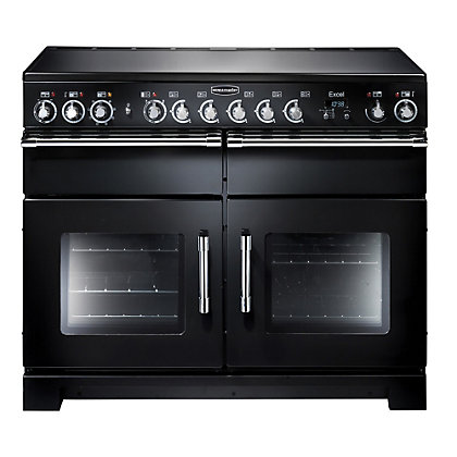 Image for Rangemaster Excel 81010 110 Electric Ceramic Cooker - Black from StoreName