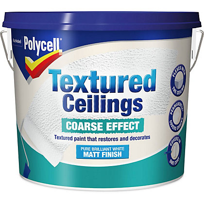 Image for Polycell Textured Ceilings Coarse Finish - 5L from StoreName
