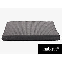 Habitat Accordian  Throw - Grey