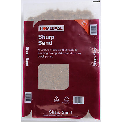 Image for Homebase Bulk Sharp Sand - 850kg from StoreName