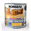 Ronseal Diamond Hard Floor Varnish Oak - 2.5L