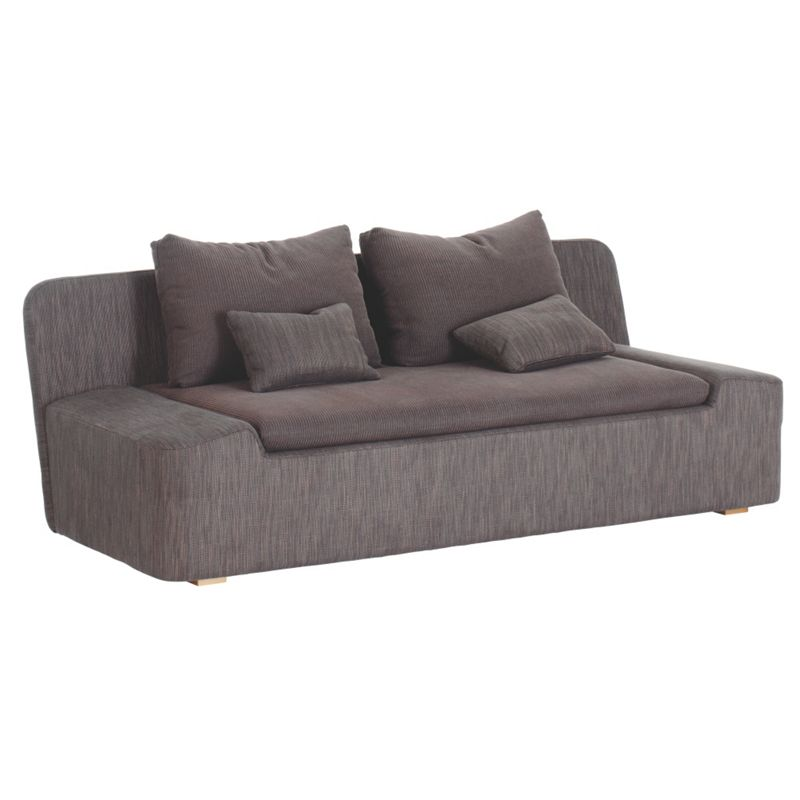 habitat kasha fabric 2 seater sofa brown. Black Bedroom Furniture Sets. Home Design Ideas