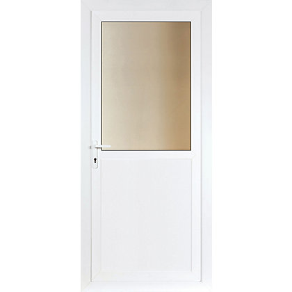 Image for Brighton Obscure Glazed Right Hand Hung Rear Door Set - 920mm Wide from StoreName