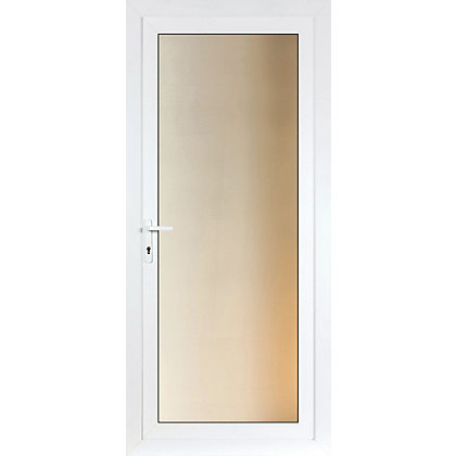 Image for Brighton Rear Door Set - Full Obscure Glass Right Hand Hung - 920mm Wide 2085mm High from StoreName