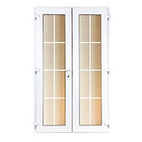 Model 4 French Door Set with Georgian Bars - 1190mm Wide 2090mm High