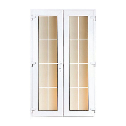 Image for Model 5 French Door Set with Georgian Bars - 1490mm Wide 2090mm High from StoreName