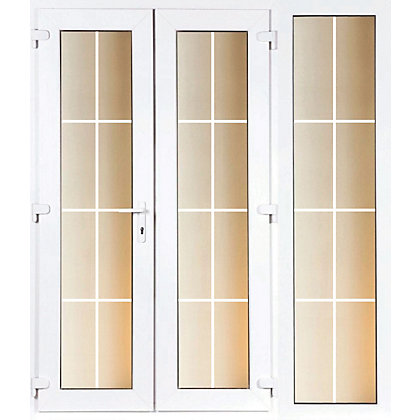 Image for Model 5 French Door set and 1 Wide Sidelite with Georgian Bars - 2090mm Wide 2090mm High from StoreName