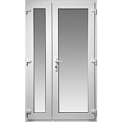 Image for Right Hand Master Model 4 Offset French Door Set - 1190mm Wide 2090mm High from StoreName