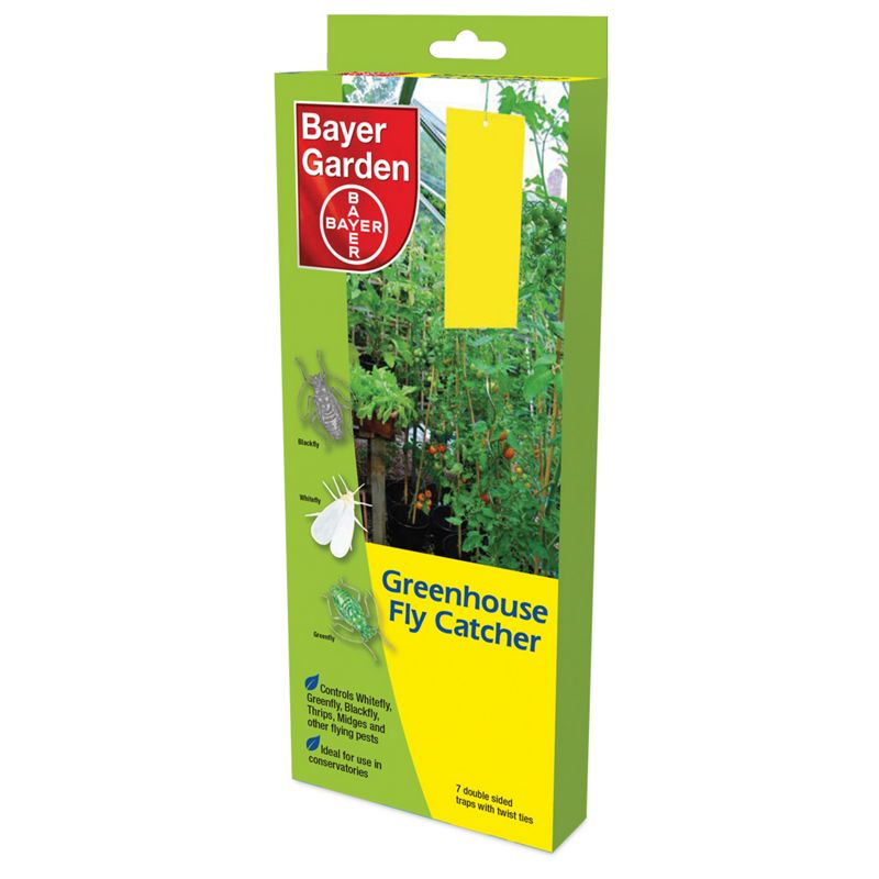 Bayer Greenhouse Fly Catcher 7 Traps