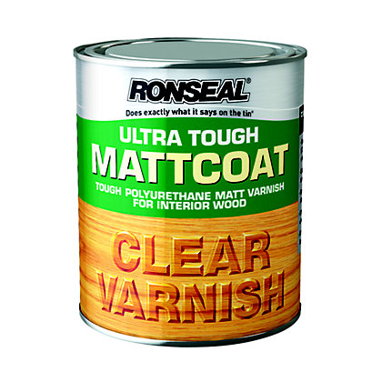 Image for Ronseal Ultratough Matt coat - 750ml from StoreName