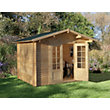 Forest Bradnor Log Cabin - 9ft 10in x 8ft 2 1/2in