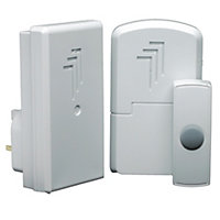 Byron Db312 Wireless Port & Plugin Door Chime Kit