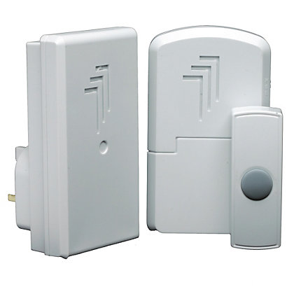 Image for Byron Db312 Wireless Port & Plugin Door Chime Kit from StoreName