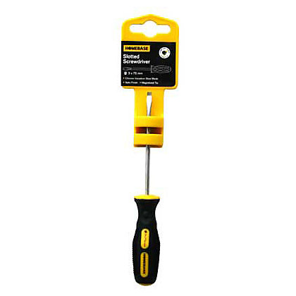 Image for Slotted Screwdriver - 3x75mm from StoreName