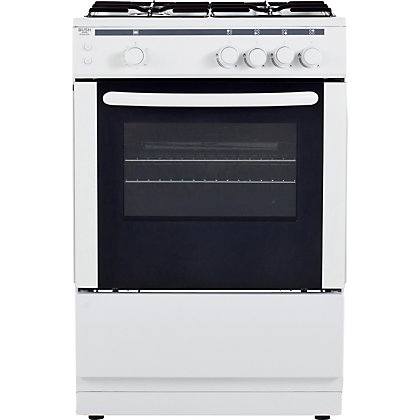 Image for Bush AG66SW Gas Cooker- White. from StoreName