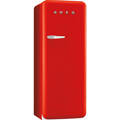 Image for Smeg FAB28QR1 Right Hand Hinged Fridge with Ice Box - Red from StoreName
