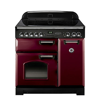 Image for Rangemaster Classic 84850 90cm Electric Ceramic Cooker - Purple from StoreName