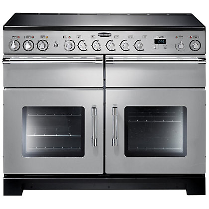Image for Rangemaster Excel 81030 110cm Electric Ceramic Cooker - Silver from StoreName