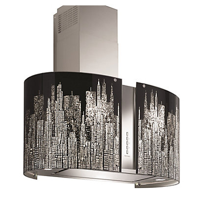 Image for Falmec Manhattan LED Wall-Mounted Hood - 67cm - Stainless Steel from StoreName