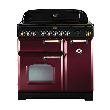 Image for Rangemaster Classic Deluxe 90290 90cm Electric Induction Cooker - Brown from StoreName