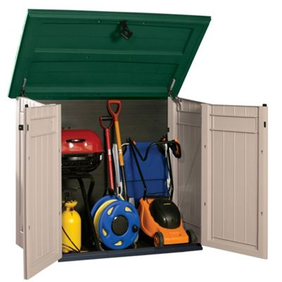 Image for Keter Store It Out Max with Piston Lid - 119 x 160 x 90cm from StoreName