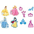 Princess Jewels Foam Elements - 10 Pieces