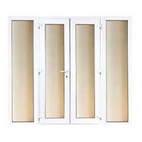 Model 5 French Door set and 2 Wide Sidelites - 2690mm Wide 2090mm High