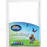 Silentnight Anti-allergy Mattress Protector White - Double