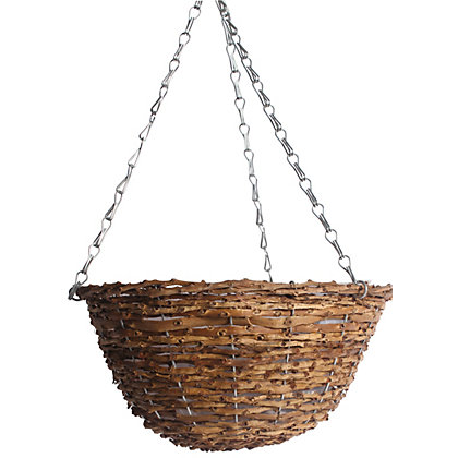 Image for Rattan Hanging Basket - 30Cm from StoreName