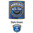 Hammerite Hammered Exterior Metal Paint - Dark Green - 250ml
