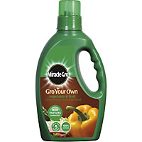 Miracle-Gro Gro Your Own Vegetable and Fruit Concentrated Liquid Plant Food - 1L