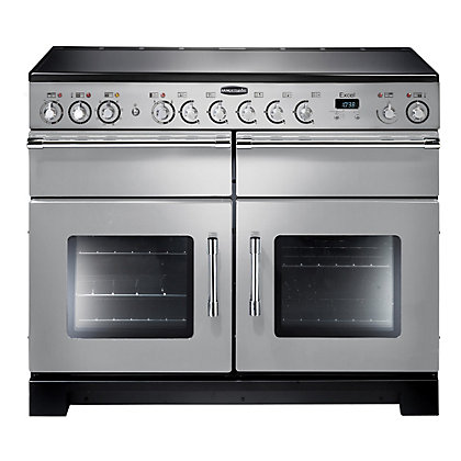 Image for Rangemaster Excel 86170 110cm Electric Ceramic Cooker - Silver from StoreName
