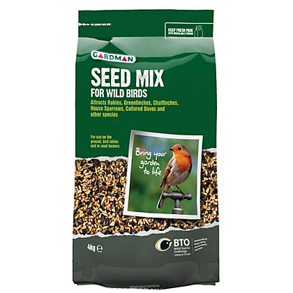 Image for Gardman Seed Mix - 4kg from StoreName