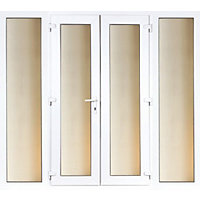 Model 6 French Door set and 2 Wide Sidelites - 2990mm Wide 2090mm High