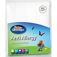 Silentnight Anti-allergy Pillow Protectors White - Pair