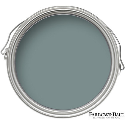 Image for Farrow & Ball Estate No.85 Oval Room Blue - Matt Emulsion Paint - 2.5L from StoreName