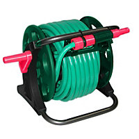 Qualcast 25m Garden Hose with Connector Set