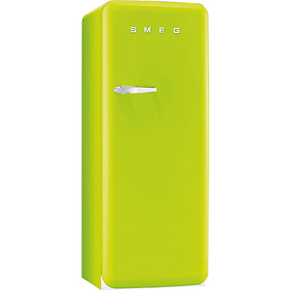 Image for Smeg FAB28QVE1 Right Hand Hinged Fridge with Ice Box- Lime Green from StoreName