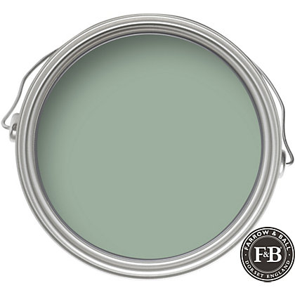 farrow ball estate green blue eggshell paint 750ml. Black Bedroom Furniture Sets. Home Design Ideas
