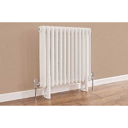 Image for Colonna 4 Column Radiator - 602mm x 609mm - White from StoreName