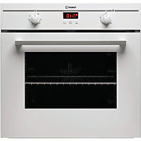 Indesit FIM33KAWH 60cm Single Built-In Electric Fan Oven - White