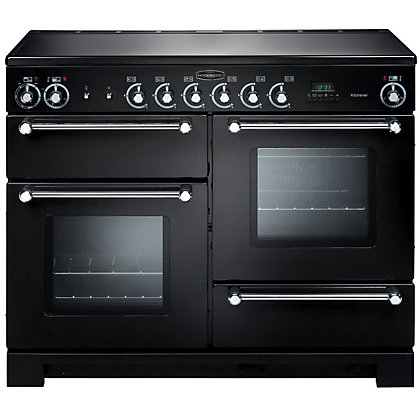 Image for Rangemaster Kitchener 78860 90cm Electric Ceramic Cooker - Black from StoreName