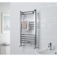 Allegra Heated Towel Rail - Chrome 650 x 400mm