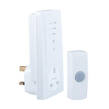 Image for Homebase HB413 Plug Through Wirefree Chime Kit - 30m from StoreName