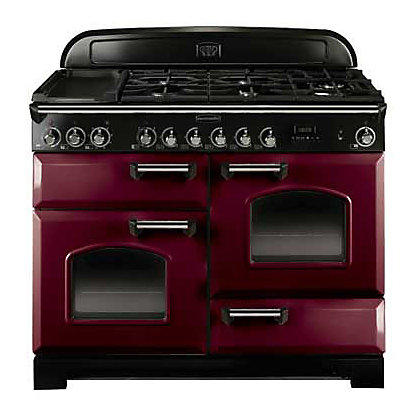 Image for Rangemaster Classic Deluxe 90400 110cm Electric Induction Cooker - Purple from StoreName