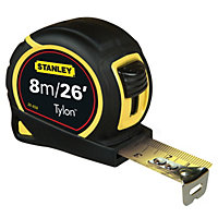 Stanley Tylon Tape - 8m/26ft